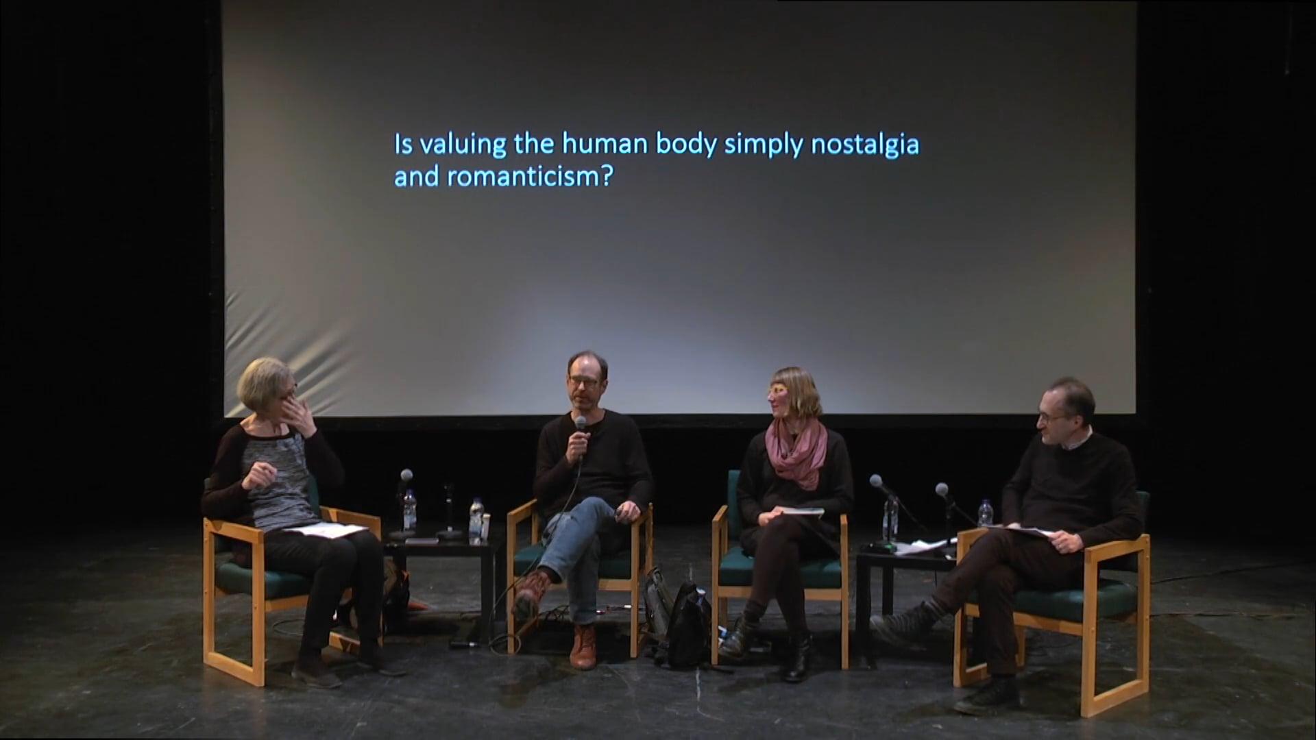The body, sensation, movement and machine intelligence
